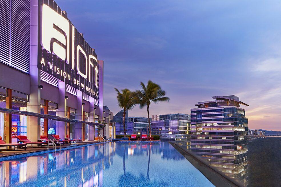 Aloft Kuala Lumpur Sentral Hotel Photo Retouching