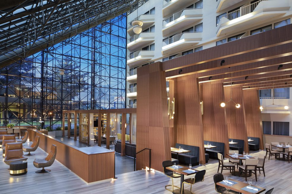Hilton DoubleTree by Hilton Newark Airport Hotel Photo Retouching