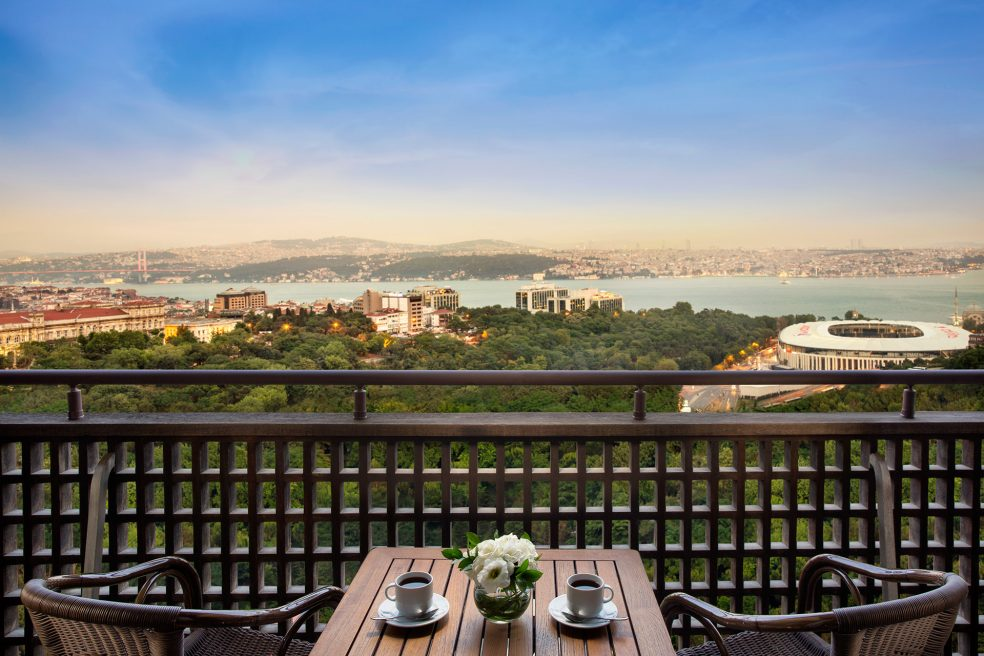 Hilton Istanbul Bosphorus Hotel Photo Retouching