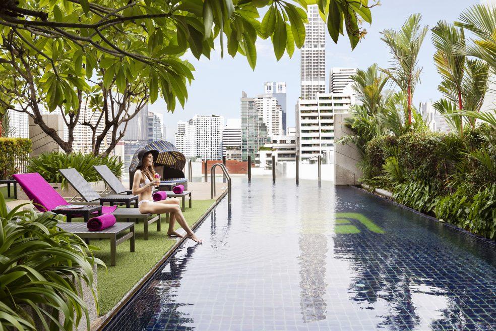 Aloft Bangkok Hotel Photo Retouching