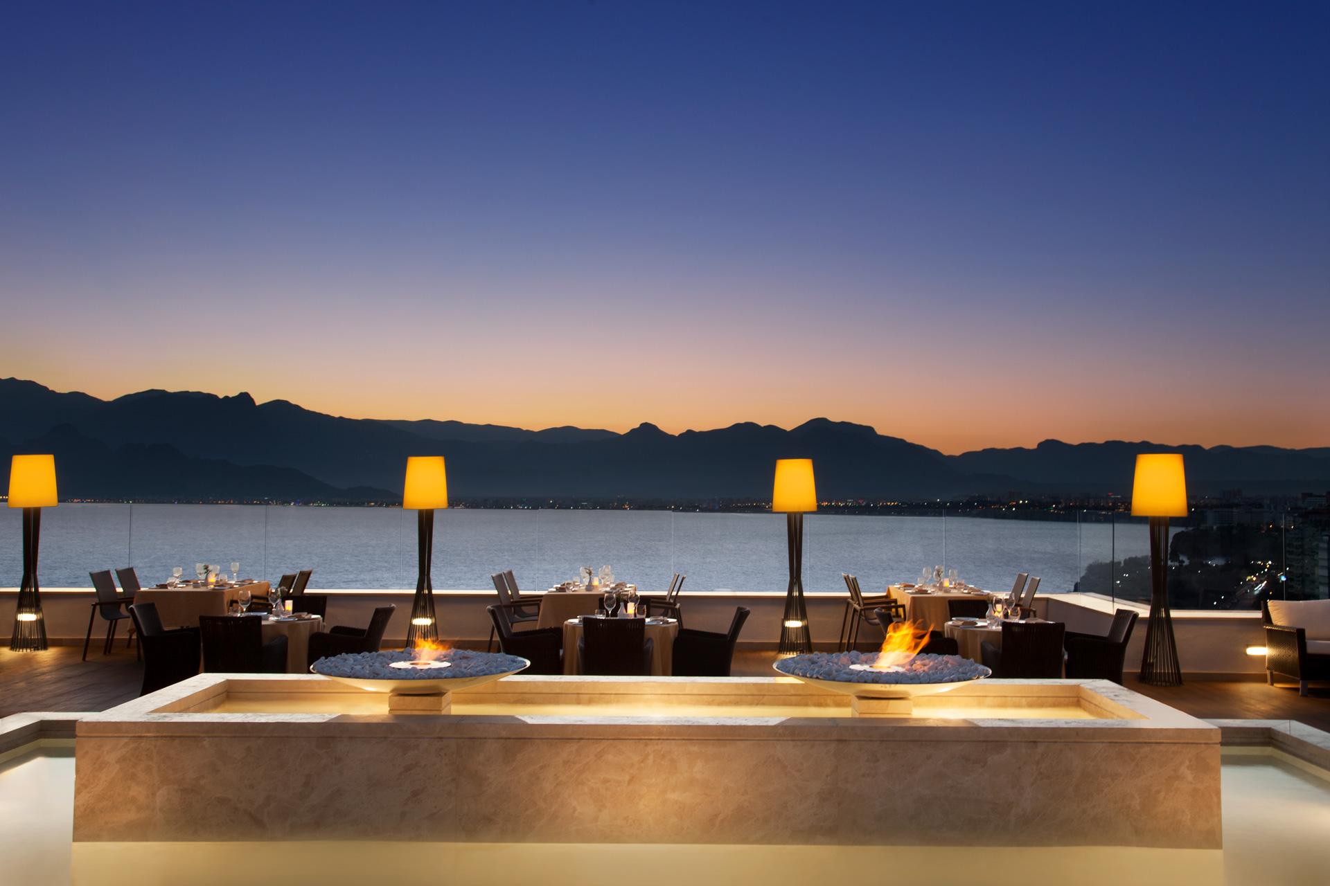 Akra Barut Hotel | Asmani Restaurant