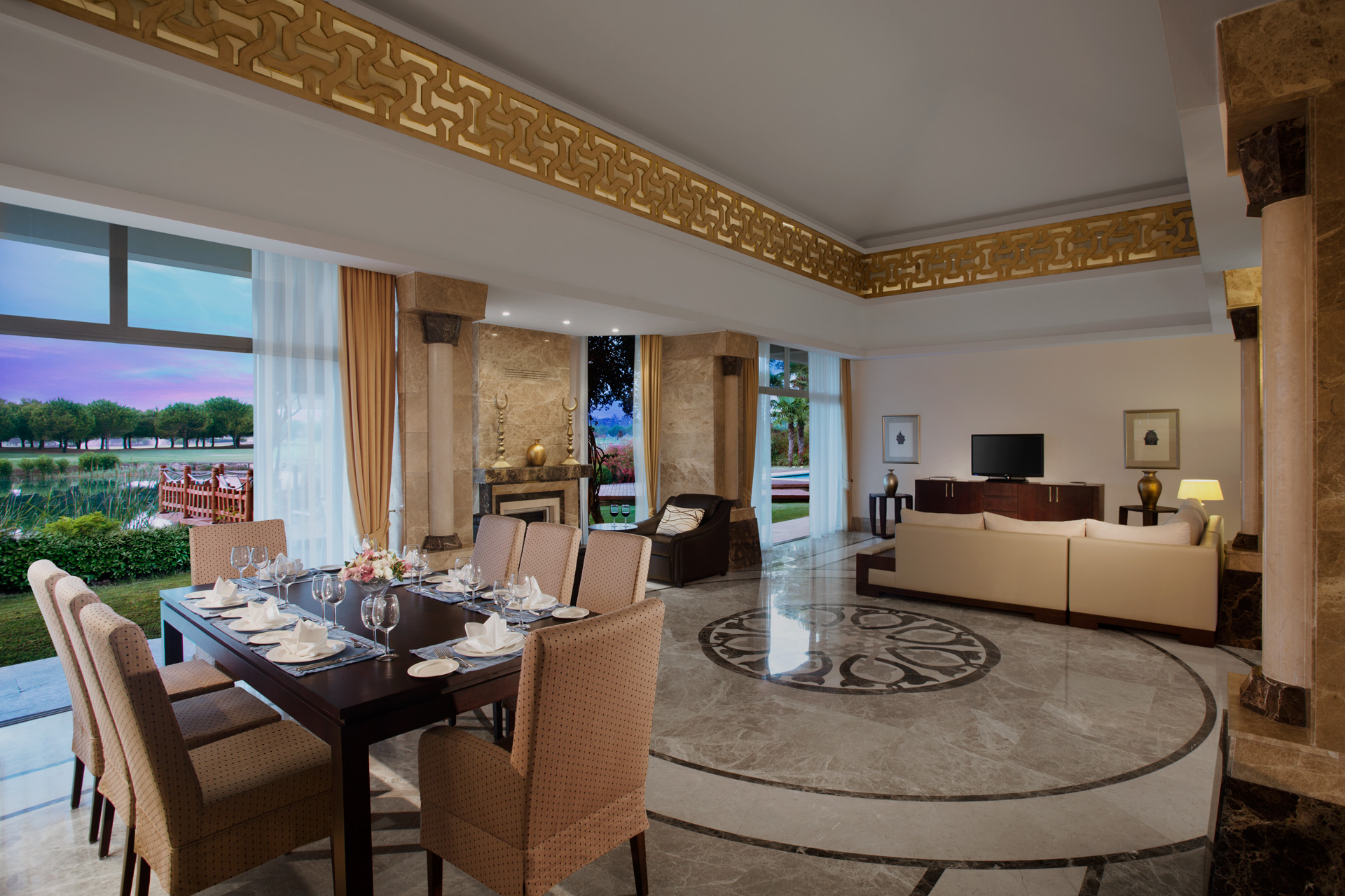Kempinski Hotel The Dome | Presidential Villa Living Room