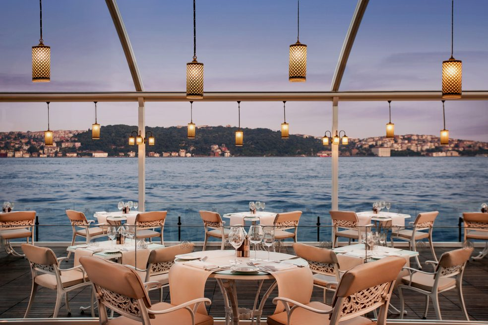 Ciragan Palace Kempinski Istanbul Hotel Retouching