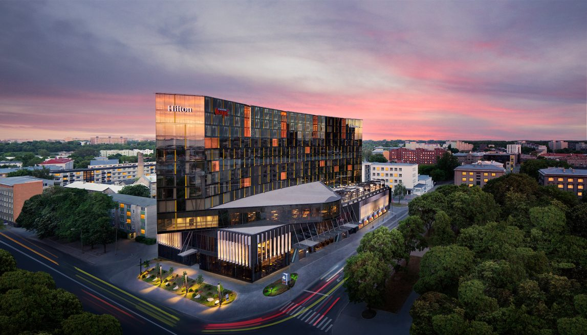 Hilton Tallin Park Hotel Retouching
