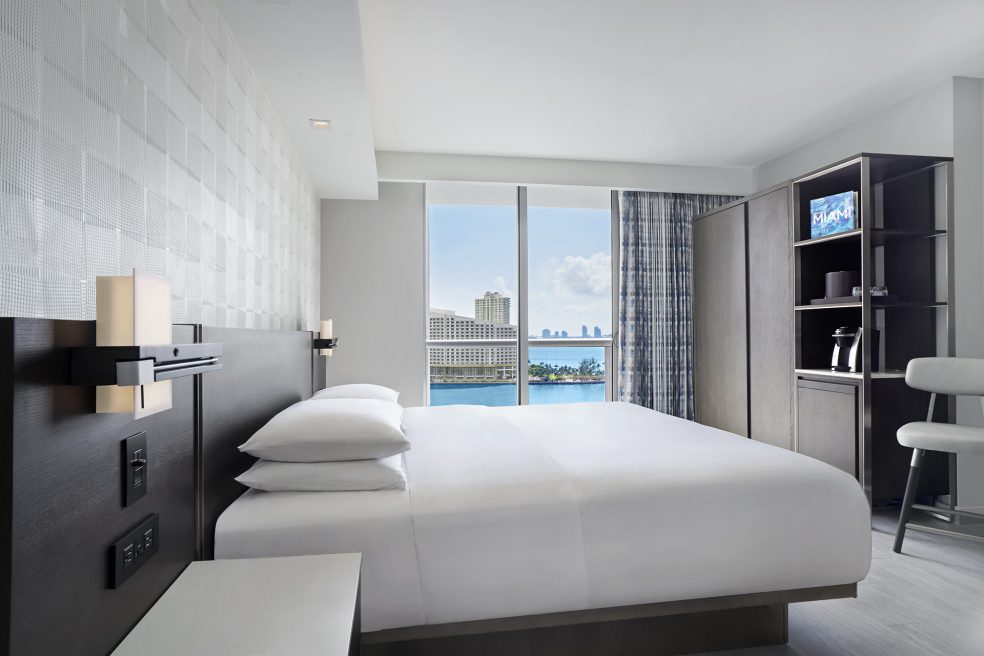 Hyatt Centric Brickell Miami Hotel Photo Retouching