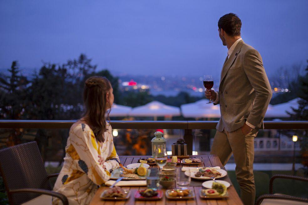 Hilton Istanbul Bosphorus Lifestyle Retouching